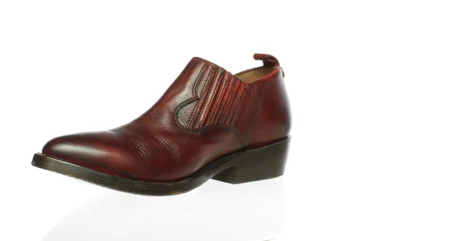 Item - Red Womens Billie Shootie Burnt Ankle Boots/Booties Size US 7.5 Regular (M, B)