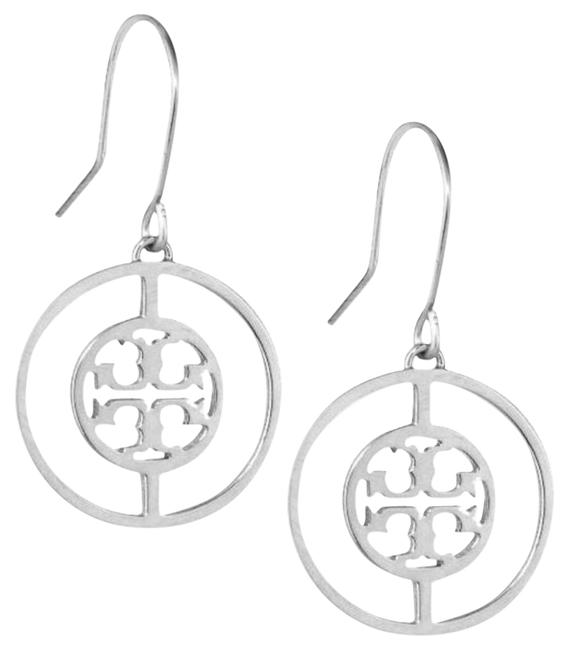 Item - Silver Deco Logo Earrings