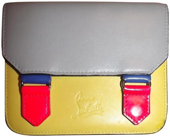 Item - Multicolor Leather Snap Card Holder Fun Nice Wallet
