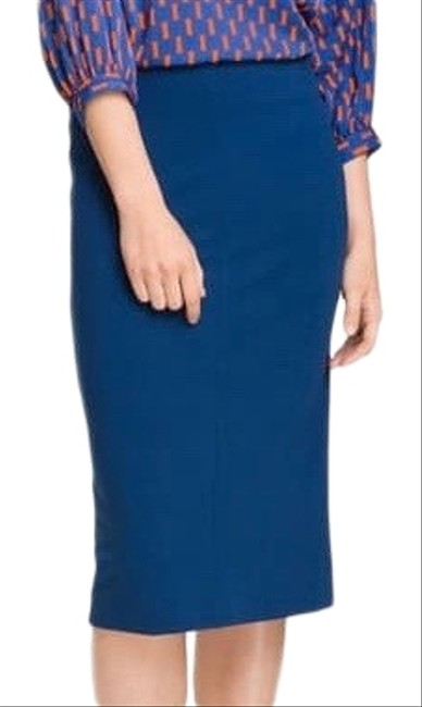 Item - Blue Esme Pencil Skirt Size 8 (M, 29, 30)