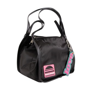 Marc Jacobs Keychain Sport Nylon Tote in Black