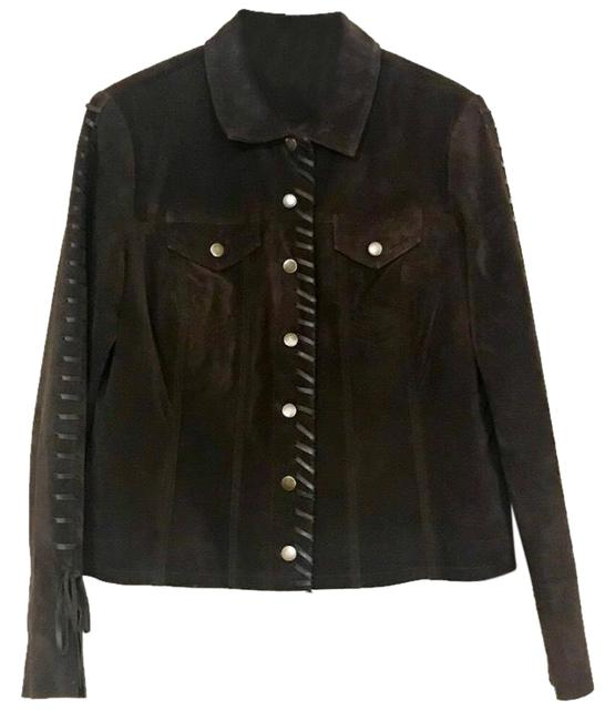 Item - Brown Vintage Chocolate Jacket Size 6 (S)