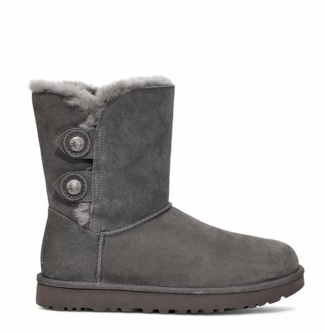 Item - Charcoal Boots/Booties Size US 10 Regular (M, B)
