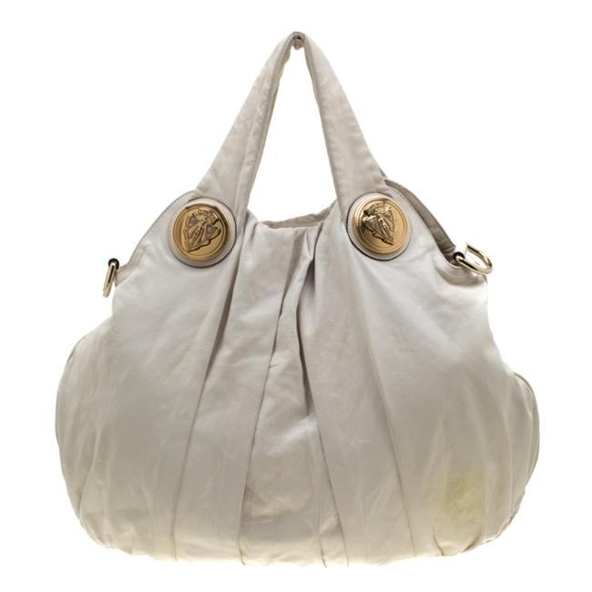 Item - Hysteria Large White Leather Hobo Bag