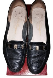 Salvatore Ferragamo Leather Designer Traditional Everyday Blue Ferragamo Ferragamo Ferragamo Ferragamo Comfortable Dress Casual Navy Flats