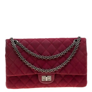Chanel Quilted Nubuck Classic Shoulder Bag