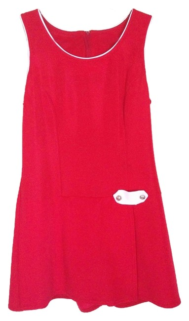 Preload https://item3.tradesy.com/images/cherry-red-decked-out-mini-short-casual-dress-size-8-m-2712907-0-0.jpg?width=400&height=650