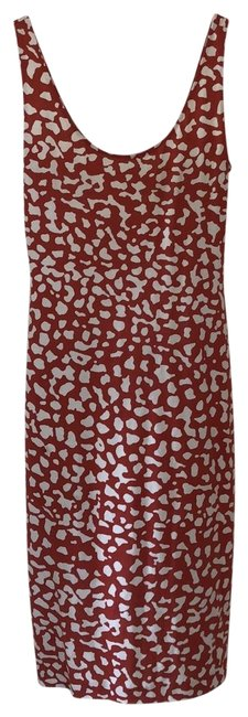 Diane von Furstenberg Red Bridget Two Mid-length Casual Maxi Dress Size 8 (M) Diane von Furstenberg Red Bridget Two Mid-length Casual Maxi Dress Size 8 (M) Image 1