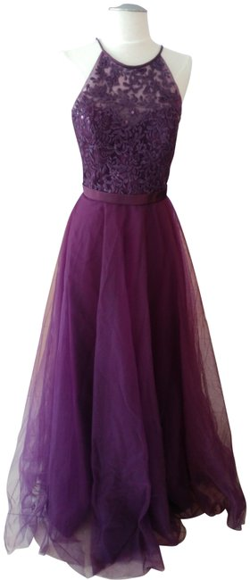 Item - Eggplant Style # 136 Long Formal Dress Size 8 (M)