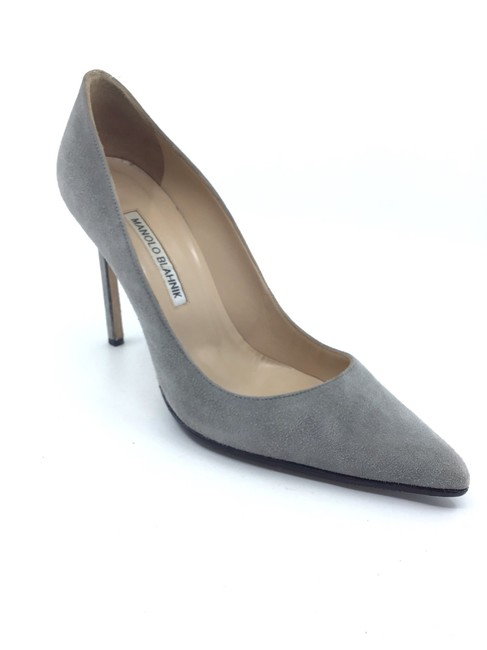 Item - Grey Suede Classic Pumps Size US 8.5 Regular (M, B)