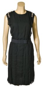 Lanvin short dress Black on Tradesy