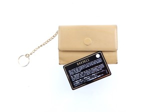 Chanel Pochette Cles Credit Coin Purse Leather