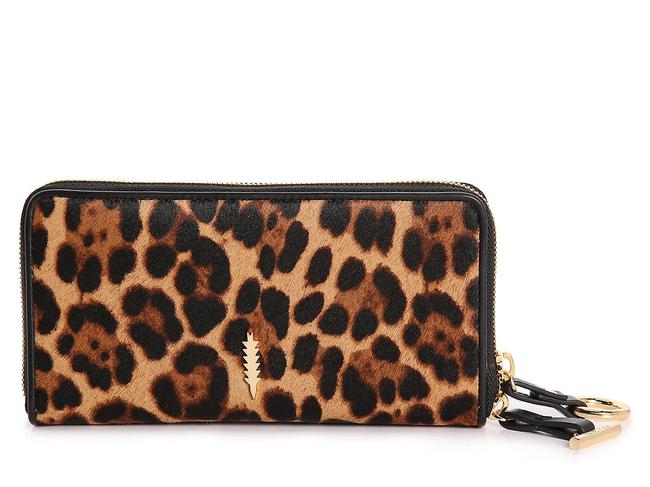 Item - Animal Print Thacker Leopard Continental Wallet