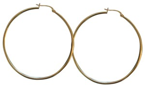 Bony Levy 45 mm thin pointed royal hoops