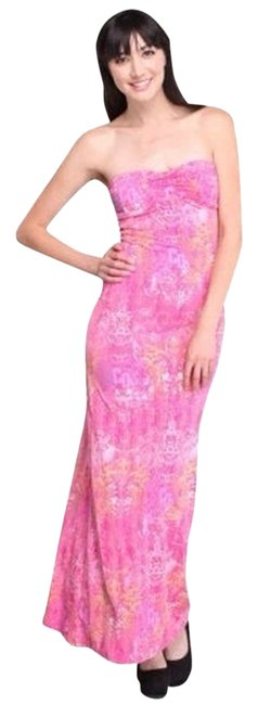 Magenta Maxi Dress by Coogi