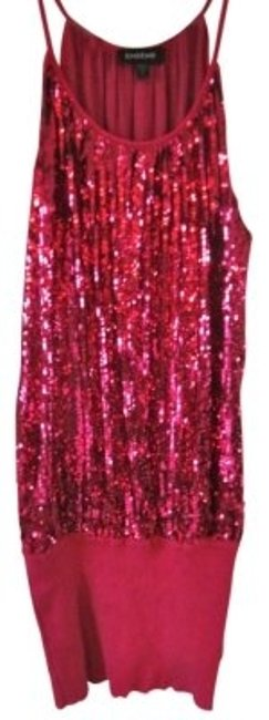 Preload https://item4.tradesy.com/images/bebe-pink-sequin-party-knee-length-night-out-dress-size-6-s-27133-0-0.jpg?width=400&height=650