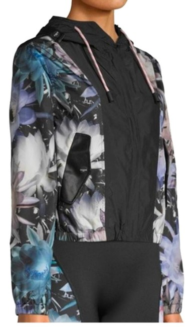 Item - Multicolor New Sport Floral Jacket Activewear Size 8 (M)