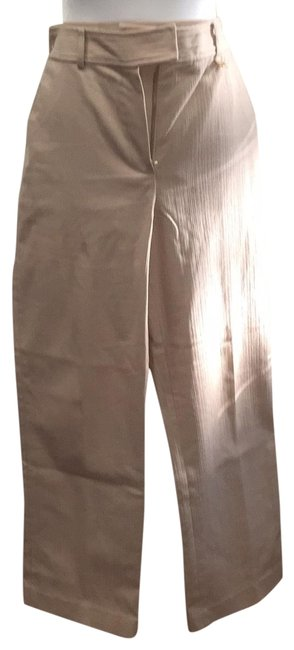 St. John Cream Unknown Pants Size 6 (S, 28) St. John Cream Unknown Pants Size 6 (S, 28) Image 1