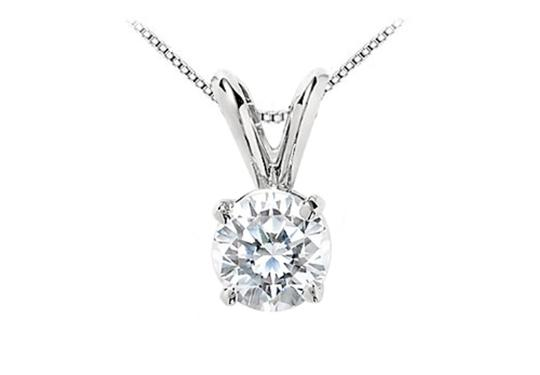 Preload https://item3.tradesy.com/images/lovebrightjewelry-white-round-cz-solitaire-pendant-in-rhodium-plating-925-sterling-silver-1-carat-tr-2713372-0-0.jpg?width=440&height=440