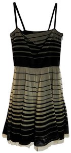Fendi Formal Mini Sleeveless Tulle Dress