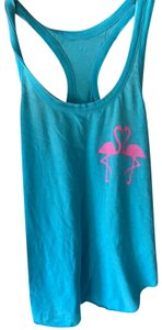 Chaser Top blue and pink
