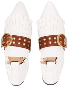 Chloé Roy Buckle Loafer Loafers white Flats
