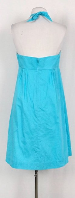Lilly Pulitzer Turquoise Brighton Lace Halter Mid-length Short Casual Dress Size 6 (S) Lilly Pulitzer Turquoise Brighton Lace Halter Mid-length Short Casual Dress Size 6 (S) Image 3