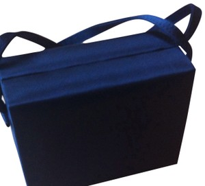 La Regale Box Purse Satin Small Baguette