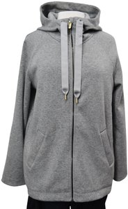 Lululemon Lululemon Gray Fleece Lined Zip-Up Size 6