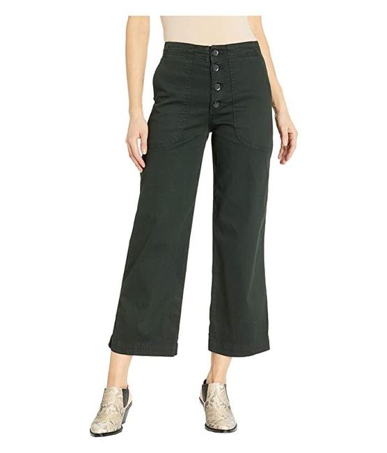 Item - Hunter Green The Etta Workwear High-waisted Crops Capri/Cropped Jeans Size 8 (M, 29, 30)