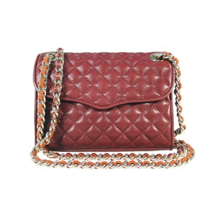 Rebecca Minkoff Mini-affair Quilted Leather Chain Strap Cross Body Bag