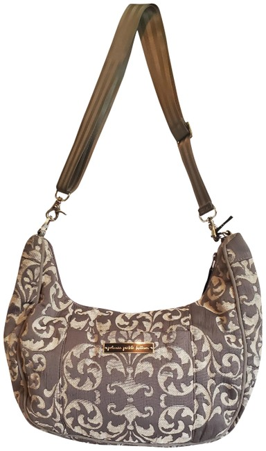 Item - Touring Tote Early Gray Fabric Diaper Bag