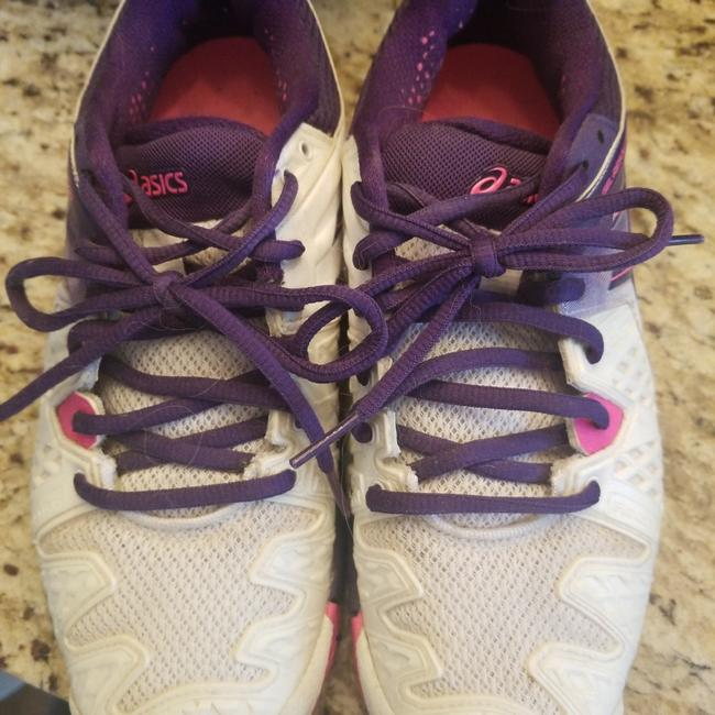 Item - Pink Purple and White Sneakers Size EU 39 (Approx. US 9) Regular (M, B)