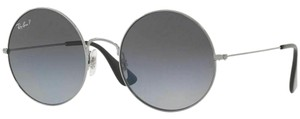 Ray-Ban Grey Gradient Polarized Lens RB3592 004/T3-55 Women's Round