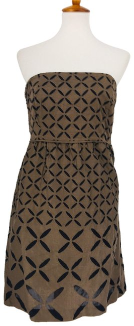 Item - Brown 25551 Mid-length Night Out Dress Size 8 (M)