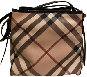 Burberry Tote in Pink & Black