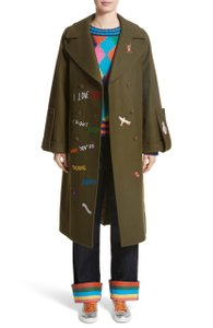 Mira Mikati Boy Scouts Japanese Space Nordstrom Cashmere Trench Coat