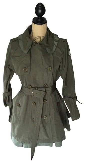 Item - Olive Green Durenne Raincoat Coat Size 2 (XS)
