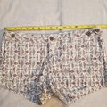 Anthropologie Red White Gray / Lux Floral Shorts Size 6 (S, 28) Anthropologie Red White Gray / Lux Floral Shorts Size 6 (S, 28) Image 10
