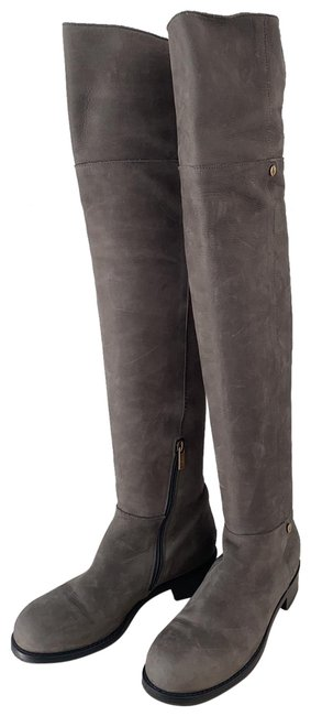 Item - Grey Mud Color Dossier Boots/Booties Size EU 38 (Approx. US 8) Regular (M, B)