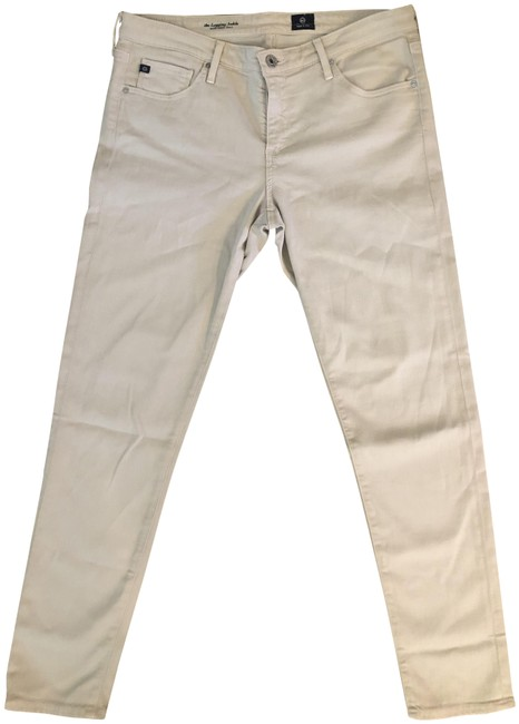 Item - Beige The Legging Ankle Super Skinny Ankle Relaxed Fit Jeans Size 31 (6, M)