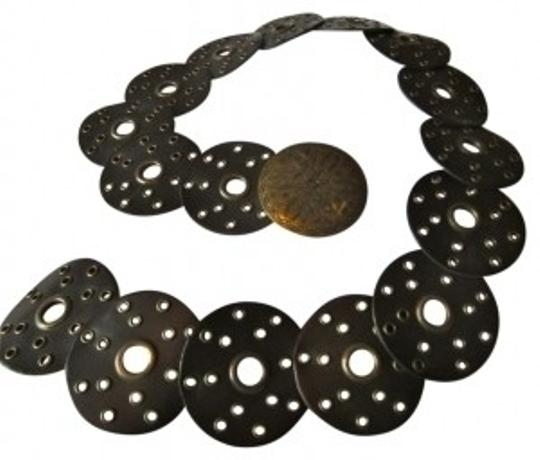 Preload https://item1.tradesy.com/images/anchor-blue-dark-brown-circle-with-rivets-belt-27140-0-0.jpg?width=440&height=440