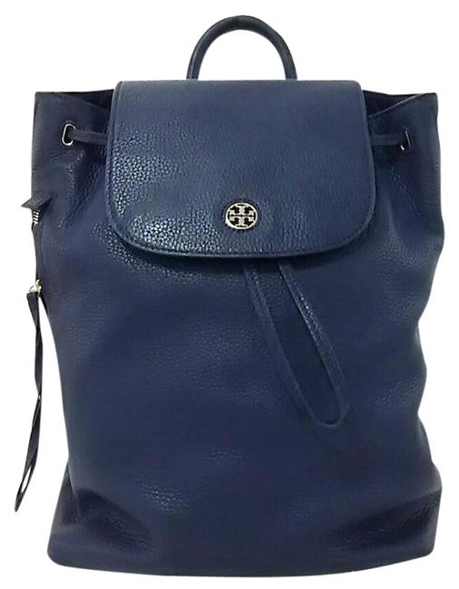 Item - Brody Blue Leather Backpack