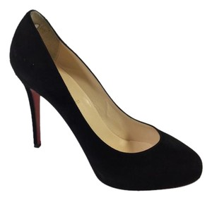 Christian Louboutin New Declic 120mm Black Pumps