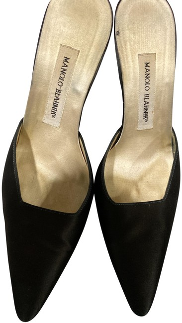 Item - Black Mules Formal Shoes Size EU 39.5 (Approx. US 9.5) Regular (M, B)