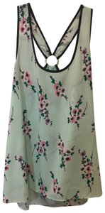 Juicy Couture Top green floral
