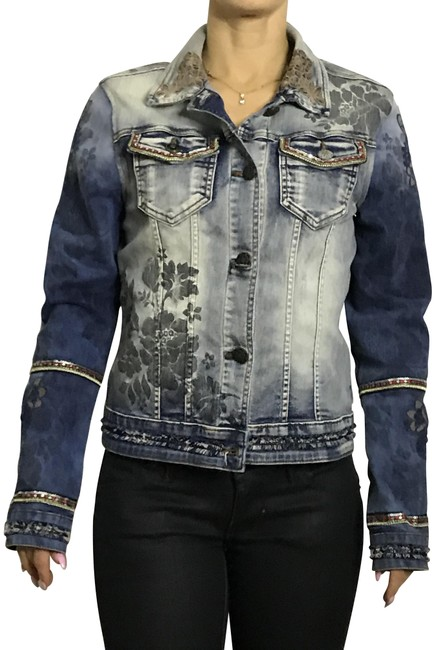 Item - Jeans Blue Jacket Size 6 (S)