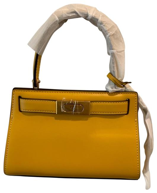 Item - Lee Radziwill Petite Electric Yellow Leather Backpack