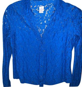 Candie's Top Royal Blue