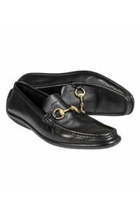 Gucci Loafers Classic Leather black Pumps